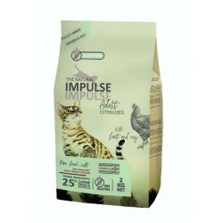 Impulse Cat Sterilized 8 Kg The Natural