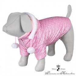 Abrigo Dog Princess S 33 Cm Rosa