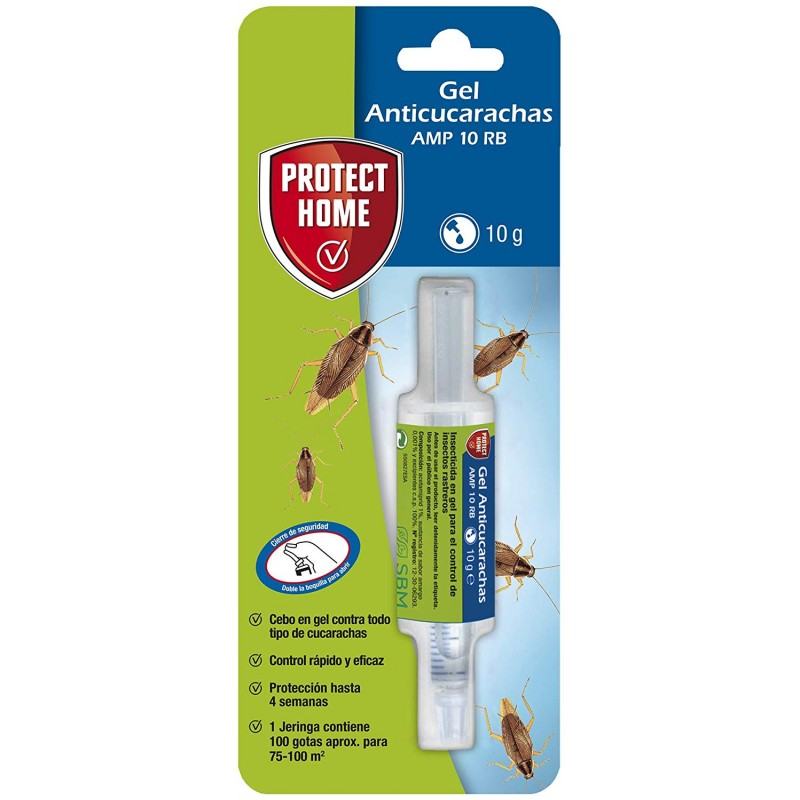Gel Anticucarachas 10 Gr Protect Home