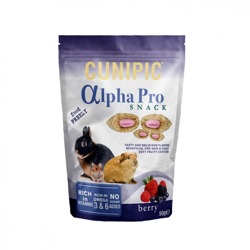 Alpha Pro Snack Frutos del Bosque 50g